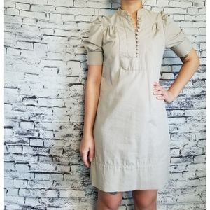 French Connection Cream Dress